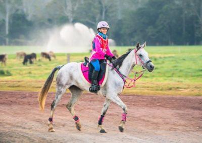 1st JNR 160km Georgie Barber riding Concerto (credit Sarah Sullivan Photography)
